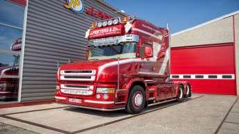 Bijzondere Scania voor J.Peeters & Zn.
