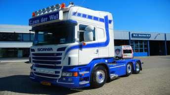 Scania R560 voor C. van der Wal