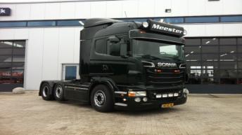 Scania R500 voor Mark Meester