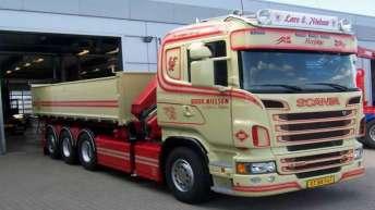 Scania R560 voor Lars E. Nielsen