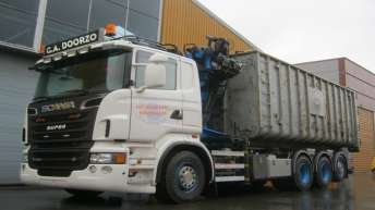 Scania R560 voor G.A. Doorzo