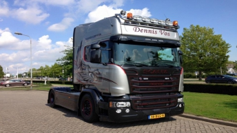 Scania R580 voor Dennis Vos