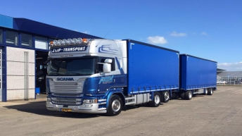 Scania R520 voor Zijp Transport