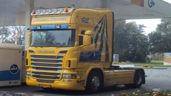 Scania R500 voor Gerben Heuver