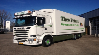 Scania R520 voor Theo Peters