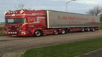 Scania V8 R580 Silver Griffin nr 57/100 - H. de Klerk Transport - Zevenbergen