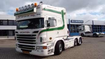 Scania R500 voor van Haaften Fruit