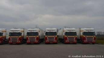 Vijf Scania R500 trekkers voor Simon Loos b.v.