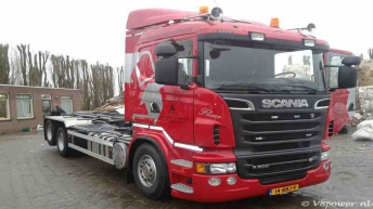 Scania R500 voor Koopmans Recycling
