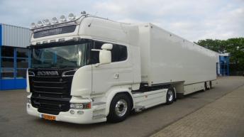 Scania R520 voor Den Hartog