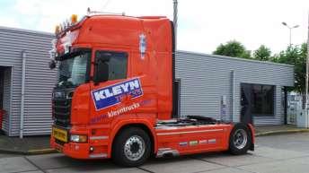 Gebruikte Scania R500 voor Kleyn Trucks