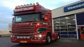 Scania R500 voor Marjo Salari