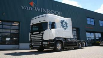 Scania R520 Longline voor Vaex