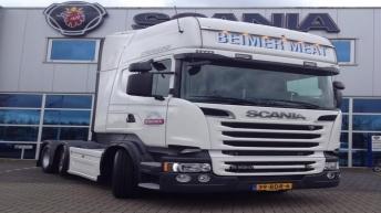 Scania R520 voor Beimer Meat
