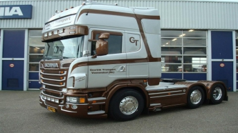 Scania R500 voor Geerink Transport