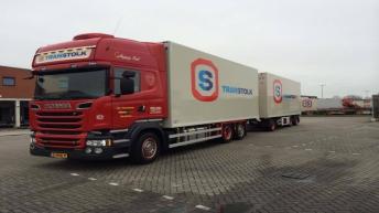Scania R580 combinatie voor Transtolk