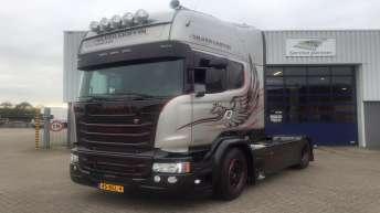Scania V8 R580 Silver Griffin nr 99/100 - Jouke Bonekamp - Uden