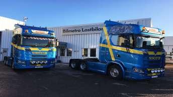 2x Scania S580 voor B. Andersson Allfrakt (ZW)