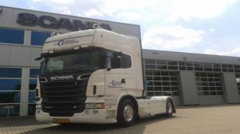Scania R500 voor Van Gemert Transport