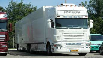 Scania R500 voor Ransom