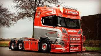 Scania R650 voor S. Verbeek