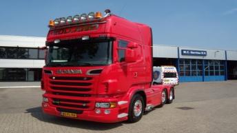 Scania R730 voor IJzerman Tegels uit Tiel