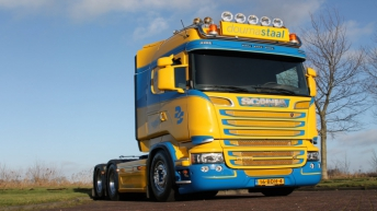 Scania R580 voor Walinga Transport