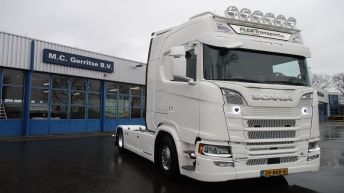 Scania S520 voor Mels Beheer (Flex Transport)