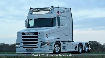 Scania S650T Voor Poulsen Biler (DK)