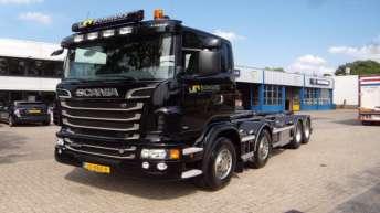 Scania R500 voor G.J. Bongers & Zn.