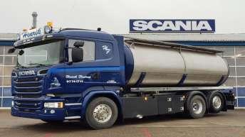 Scania R580 voor Henrik Floutrup (DK)