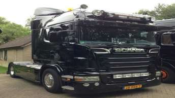 Scania R500 voor Ton van de Ven