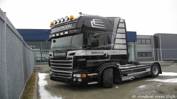 Scania R500 voor Impexco (B)