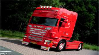 Scania R500 voor Nieland Transport