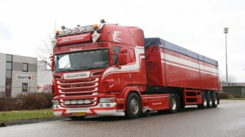 Scania R500 voor Stam Transport