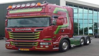 Scania R520 voor Gebr. v. Blijderveen