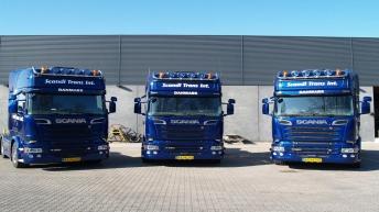 3x Scania R520 voor Scandi Trans Int. (DK)