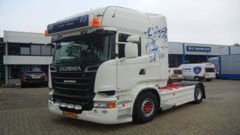 Tweedehands Scania R560 voor v/d Heiligenberg