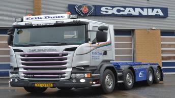 Scania R520 voor Erik Duus (DK)