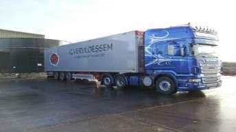 Scania R560 voor Trans Gernard