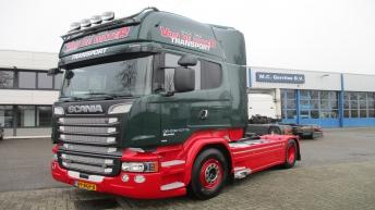 Scania R520 voor P.J. van de Water
