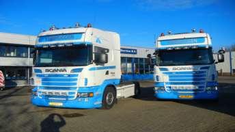 Twee Scania R500's voor Verbruggen uit Dreumel