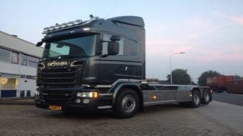 Scania R580 voor Van de Pol