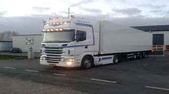 Scania R500 voor BBT uit De Lier