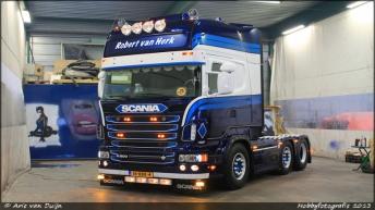 Scania R500 voor Robert van Herk