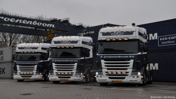 Drie nieuwe Scania R500's voor C. Groenenboom