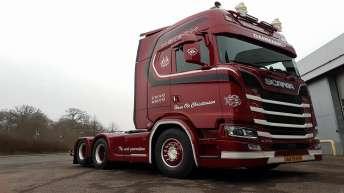 Scania S730 voor Hans Ole Christensen (DK)