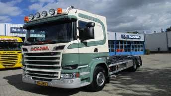 Scania R520 voor W. Scherpenzeel & Zoon BV
