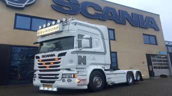 Scania R580 voor Nieuwdorp