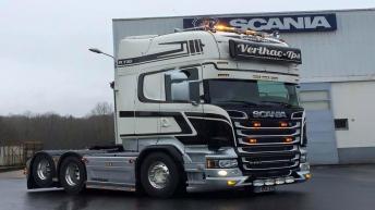 Scania R730 voor Verlhac-Tps (FR)